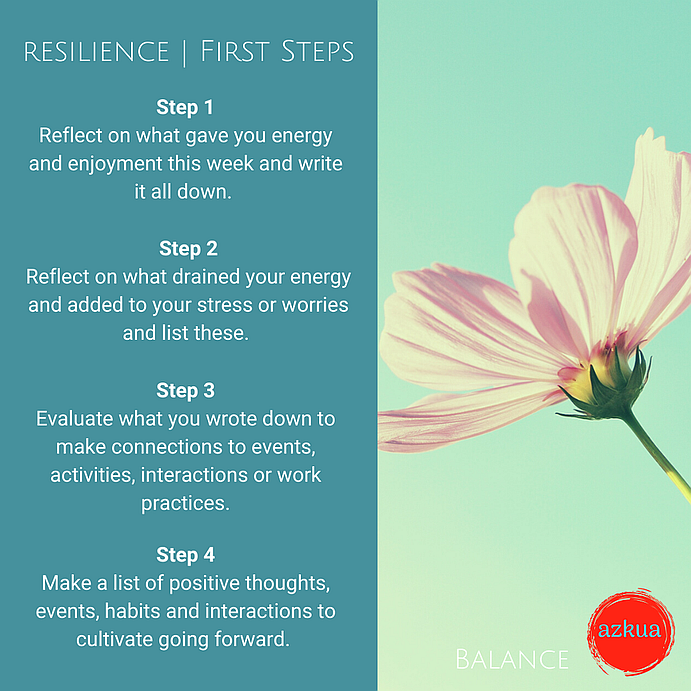 power of resilience steps